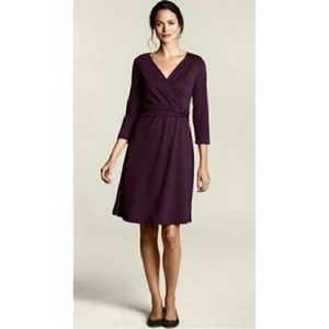 NEW WITH TAGS Lands' End faux wrap dress